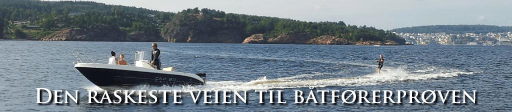 vannski båtførerprøven